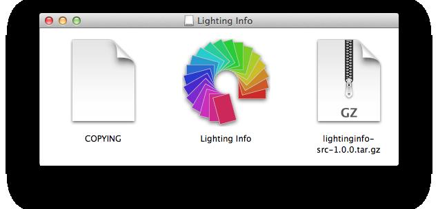 Lighting Info